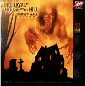 Betrayal at House on the Hill Widows Walk Expansion