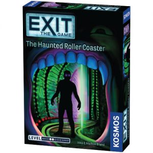 Exit: The Haunted Roller Coaster front