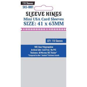 Sleeve Kings: 41x63mm 110 Pack Card Sleeves