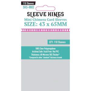 Sleeve Kings: 43x65mm 110 Pack Card Sleeves