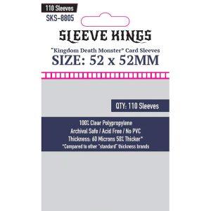 Sleeve Kings: 52x52mm 110 Pack Card Sleeves