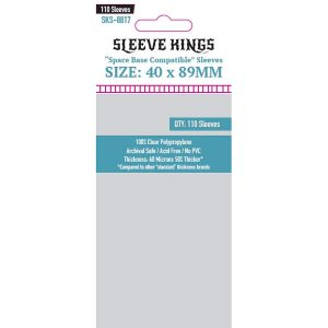 Sleeve Kings 40x89mm 110 Pack Card Sleeves