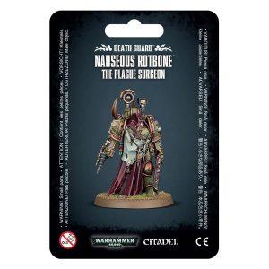 Warhammer: Death Guard Nauseous Rotbone, The Plague Surgeon