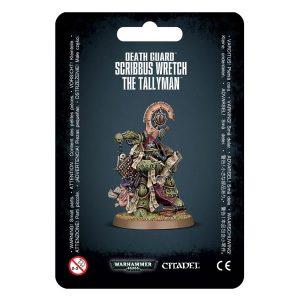 Warhammer: Death Guard Scribbus Wretch, The Tallyman