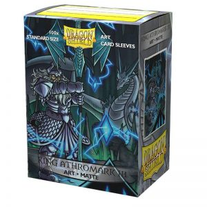 Dragon Shield King Athromark III Matte Art Sleeves