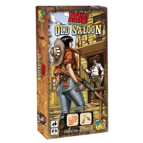 Bang! The Dice Game: Old Saloon Expansion