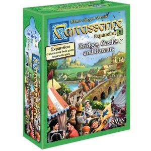 Carcassonne Expansion 8: Bridges, Castles & Bazaars