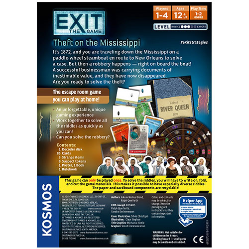 Exit: Theft on the Mississippi back