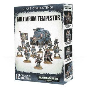 Warhammer 40,000: Start Collecting! Militarum Tempestus