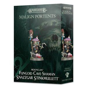 Warhammer: Age of Sigmar: Fungoid Cave-Shaman Snazzgar Stinkmullett