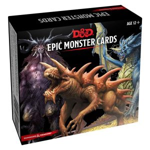 Dungeons & Dragons Spellbook Cards: Epic Monster Cards