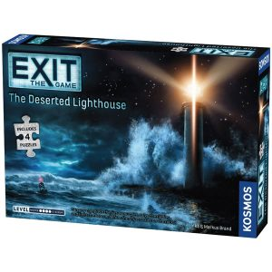 Exit: The Deserted Lighthouse (with Jigsaw Puzzle) front